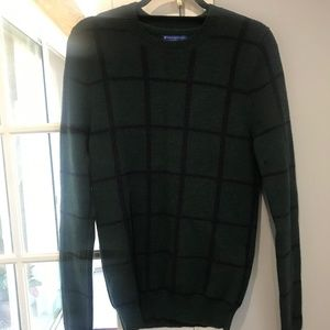 Opening Ceremony Green Knit Sweater
